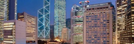 Mandarin Oriental, Hong Kong © Mandarin Oriental Hotel Group